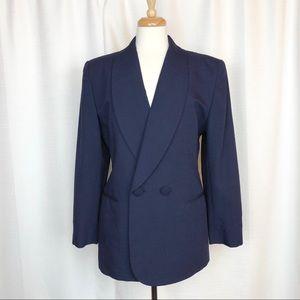 Christian Dior Navy Blazer Size 12